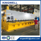 Tosatura idraulica della ghigliottina e tagliatrice di piastra metallica dello strato QC11y-16X8000