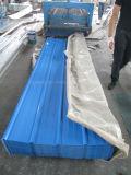 Boas folhas do telhado para a telha azul de materiais de construção/de telhadura mar profissional