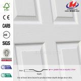 Piel blanca de la puerta de la pintura de fondo de madera barata hermosa (JHK-020)