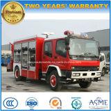 Isuzu 4X2 5000L 물 2000L 거품 유조선 화재는 트럭을 진화한다