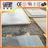 Precio laminado en caliente de la placa de acero del carbón Ss400 por tonelada