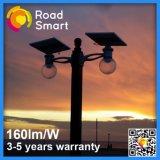 40W LED Solar Garden Street Light com LiFePO4 bateria de lítio