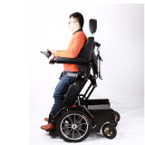 Кресло-коляска стоящей силы роскоши возлежа электрическая