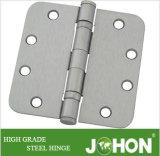 """Dobradiça redonda do rolamento da ferragem da mobília (acessórios da porta do aço 4.5 """" X4.5 """" ou do ferro)"""