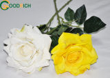 단 하나 줄기 로즈 인공 꽃
