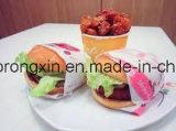 Verpacken- der Lebensmittelpapierhamburger-Papier mit dem PET beschichtet