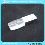 Crystal USB Flash Drive com Interno Carve Logo (ZYF1526)
