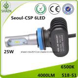Universal LED coche faro piezas de automóviles 9-32V H11 4000lm