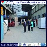 Luz Estructura del marco de acero al aire libre de la bóveda casa hecha en China