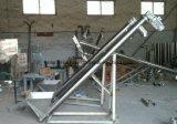Transportador del espiral del acero inoxidable, transportador de tornillo usado para la industria alimentaria