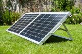 120W que dobra o jogo do painel solar para acampar