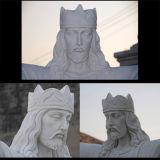 Statua bianca Ms-293 di Carrara Jesus della statua di pietra di marmo del granito