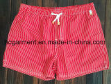 Ткань Mose всходит на борт краткостей, краткостей пляжа человека напечатанных прокладкой