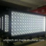 Outdoor Aluninium Frame Mega Publicidade LED Sign Pole Light Box