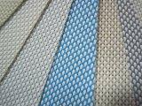 Tela casera al aire libre de la cortina del rodillo de la cortina del rodillo de las cortinas de ventana de la prueba incombustible del agua