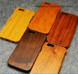 Caixa de madeira do telefone da arte -final feita sob encomenda de China para o caso de madeira luxuoso do iPhone 6/6s
