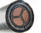 Low Voltage BS 6346, IEC 60502-1를 위한 0.6/1kv 4X95mm2 Copper Conductor PVC Insulated Armored Power Cable