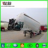 三車軸40cbm 50tonはバルク粉のセメントタンクトレーラーを乾燥する