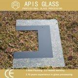 matrice per serigrafia Tempered ultra chiara di 3mm verniciata di vetro per il forno