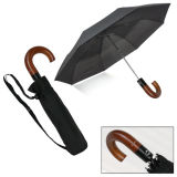 Black antivento Automatic Open e Close Folding Umbrella