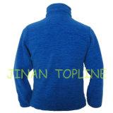Куртка ватки голубой полной застежки -молнии женщин катионоактивный покрашенная