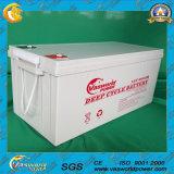 Leitungskabel-Säure-Batterie AGM-12V200ah für Sonnenenergie Syeterm mit Hochleistungs-