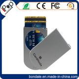 Portatarjetas de encargo plástico para de la tarjeta de crédito