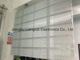 Transparenter Innen-Glasbildschirm LED-P7.5-8 für das Bekanntmachen des Projektes