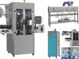 Máquina de etiquetado mineral principal doble automática de la funda de la botella de agua