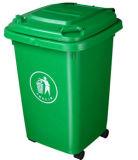 i Quattro-Wheelies 50L hanno spostato lo scomparto residuo di plastica dello scomparto di immondizia dello scomparto di rifiuti