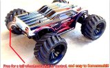 Carro elétrico 4WD sem escova da escala RC da velocidade rápida 1/10