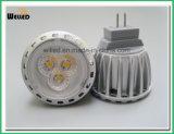 luz energy-saving 2W 4W Gu4.0 do ponto do projector do diodo emissor de luz MR11 de 12V 10-30VDC