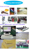 Cortadora automática de la muestra de la cortadora del paño de la tela y de las hojas