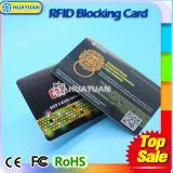 Cartão de corte do construtor da venda quente anti RFID de América para a proteção do cartão