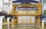 Profil en aluminium d'extrusion de porte de guichet