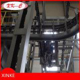 Machine de sablage de suspension de chaîne de cercle
