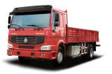 유로 3 화물 트럭을 운전하는 HOWO 상표 4X2