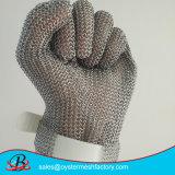 Панцырь Chainmail сетки кольца нержавеющей стали сваренный перчаткой