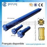 Alto martillo de la presión de aire de DHD380 SD8 Ql80 DTH