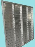 Obturador personalizado do alumínio da estufa do equipamento da agricultura