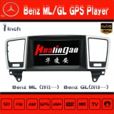 Navegação de Sysytem GPS do perseguidor do carro de Hualingan para o reprodutor de DVD de rádio do Ml /Gl do Benz de Mercedes