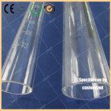 水晶はスケールによって印刷される水晶管をごしごし洗う