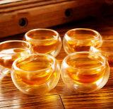 Bac en verre de belle de modèle de thé vaisselle de cuisine en verre de jeu avec le filtre