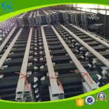 Valla de seguridad del acero inoxidable del PVC