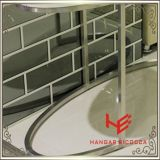 Seitlicher Möbel-Frisierkommode-Edelstahl-Möbel-Ausgangsmöbel-Hotel-Möbel-Tisch-Kaffeetisch-Tisch- für Systemkonsoletee-Tisch des Tisch-(RS161701) moderner