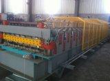 Плитка толя Двойн-Слоя Glavanized самого низкого цены стальная делая машину