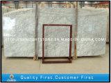 浴室のためのBianco磨かれたカラーラの白い大理石は虚栄心の上をタイルを張る