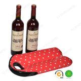ピクニックのためのSGSが付いているネオプレンのワイン・ボトルのクーラーのホールダーを2詰めなさい