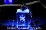 Hsgp-4kb 3D Machine van de Gravure van de Laser van het Kristal met de Certificatie van Ce