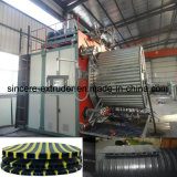 HDPE de Holle Machines van de Uitdrijving van de Pijp van de Muur Windende